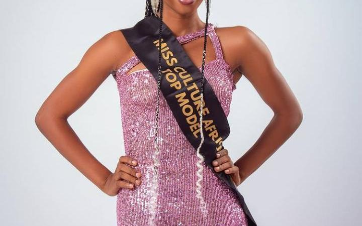 SPICE TV INTERVIEW WITH NEWLY CROWNED MISS CULTURE AFRICA TOP MODEL 8