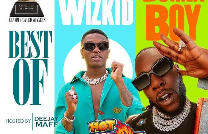 [Mixtape] DJ Maff – Wizkid & Burna Boy Mix 4
