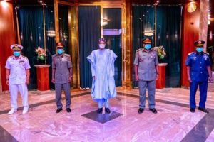 Take Out Bandits, Sponsors – President Buhari Orders Service Chiefs 2