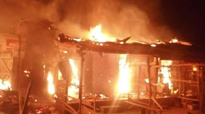 Traders Devastated As Another Fire Ravages Ibadan Plank Market
