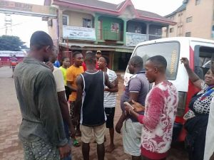 Man Runs Mad After Allegedly Taking Hard Drugs In Anambra State (See Photos) 3