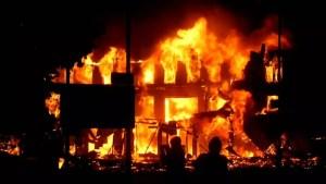 RCCG Church Auditorium Guts Fire In Lagos