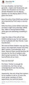 Plane Crash!! Ex Presidential Aspirant – Adamu Garba Blows Hot 1