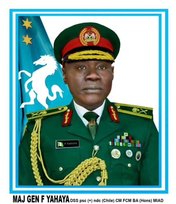 Buhari Appoints Major-General Yahaya Farouk As New Chief Of Army Staff