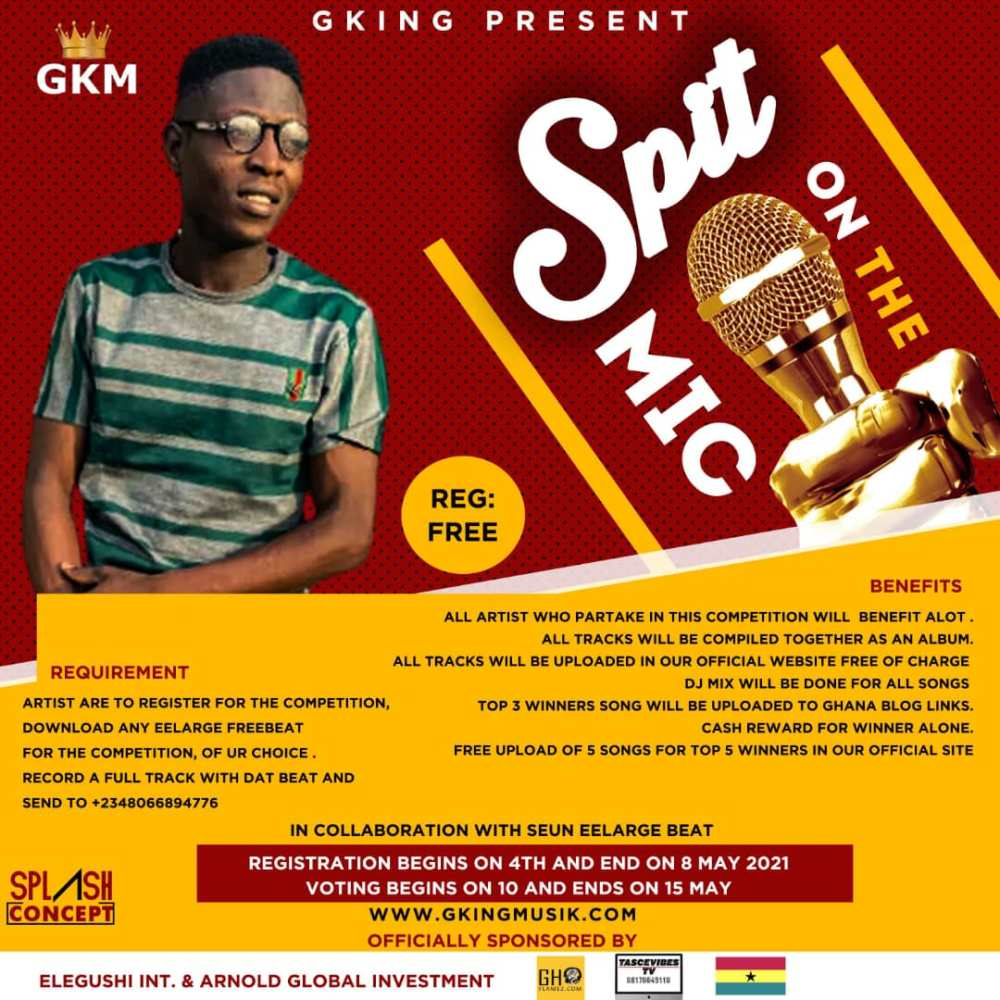 Gking Present - Spit on the Mic Competition