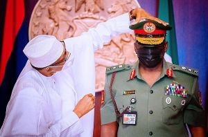Presidency Finally Reveals Why Buhari Was Absent At Late COAS Attahiru Burial