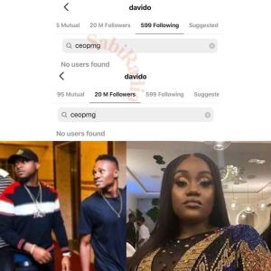 TROUBLE IN PARADISE!! Davido Unfollows, Blocks Cousin, Clarks Adeleke Following Clarks Surprise Birthday For Chioma 1