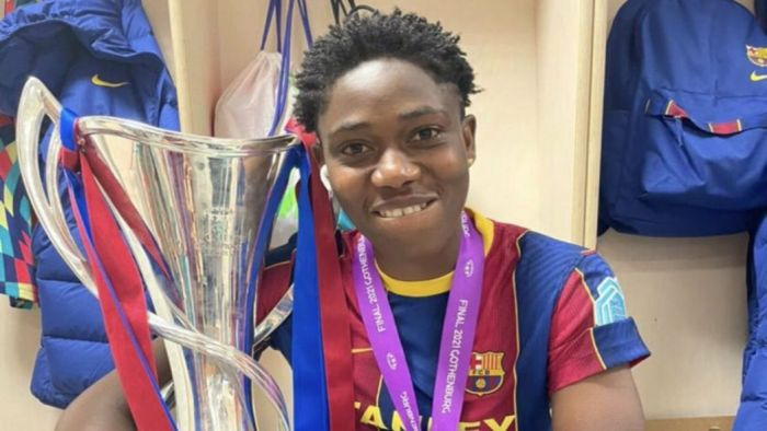 Oshoala Becomes First Nigerian To Win Champions League Title
