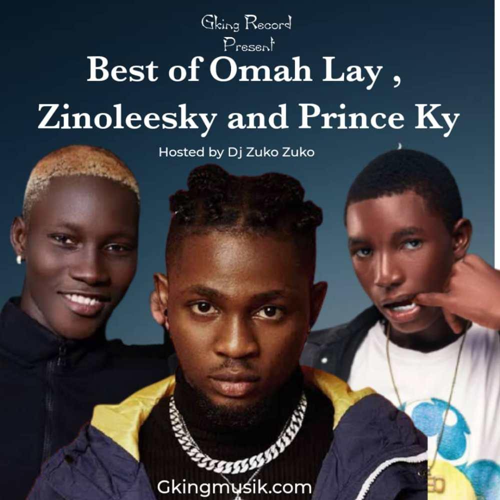 Download Dj ZuKo Best Of Omah Lay ft Zinoleesky and Prince Ky MixTape 08095837690 1