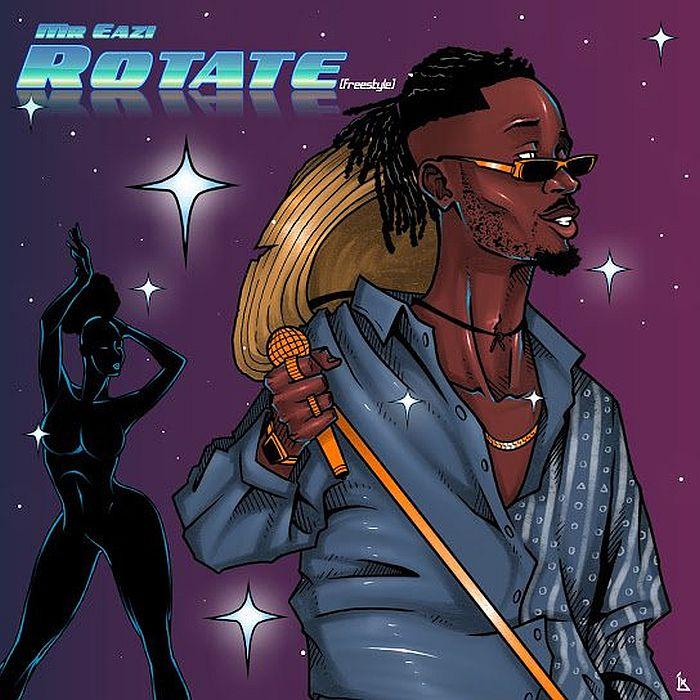 Download Mr Eazi – Rotate (Freestyle) 1