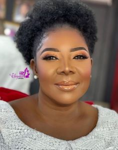 See This Makeup Transformation Of A 75-year-old Ghanaian Woman (Photo) 4