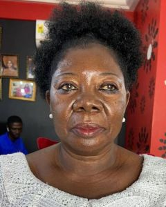 See This Makeup Transformation Of A 75-year-old Ghanaian Woman (Photo) 3
