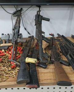 DSS Declares Sunday Igboho Wanted (See Photos Of The Charm And Guns Found In His House) 6