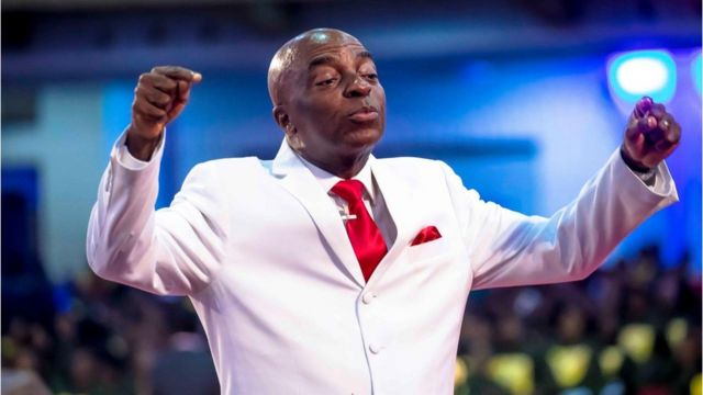 Bishop Oyedepo Fires 40 Pastors Over Low Income From Their Branches [VIDEO]