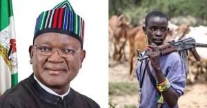 Arrest Fulani Herdsmen Especially 'Miyetti Allah' Leaders Same Way You Arrested Nnamdi Kanu – Governor Ortom Tells Buhari (VIDEO)