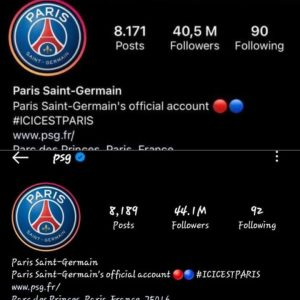 PSG Gains Over 5 Million Instagram Followers After Signing Messi 3