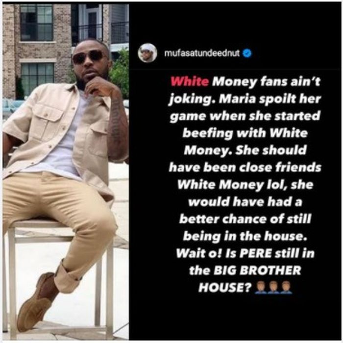 """You Ruined Your Game When You Started Beefing Whitemoney"""" – Tunde Ednut Tells Maria 1"""