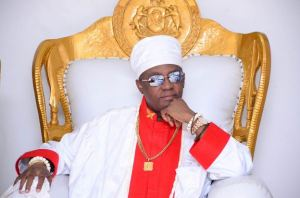 Oba Of Benin Welcome Quadruplets With 5th Wife