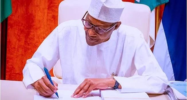 Buhari Writes Senate, Seeks Amendments To Petroleum Industry Act