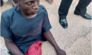 Crippled Kidnapper Arrested While Attempting To Pick Ransom In Katsina (Photo)