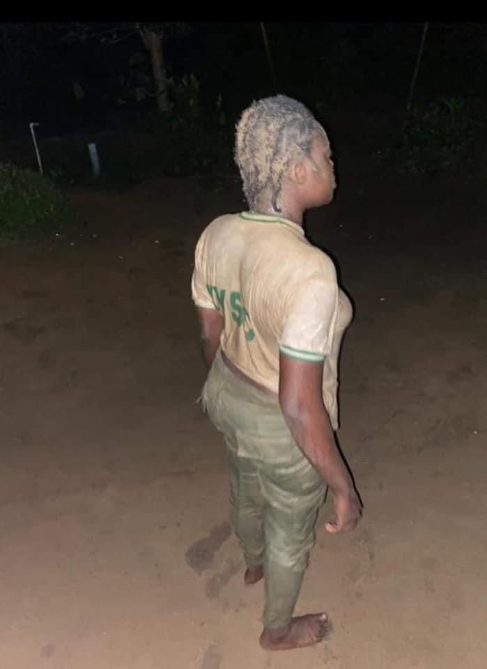 Female Army Officer Brutalizes Female Corps Member In Calabar 2