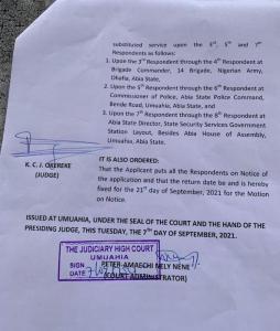 Mazi Nnamdi Kanu Sues Nigerian Government For N5billion Over Health Issues 2