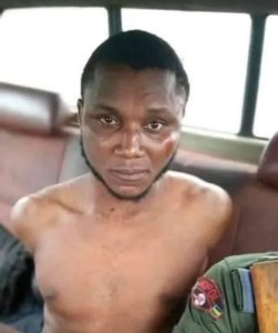 Suspected 'Yahoo Boy' Arrested After Failed Attempt To Beh*ad His Girlfriend For R*tual In Bayelsa (Graphic Photos)