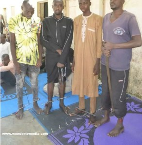 See Inside Illegal Rehabilitation Center In Kano Where Victims Are Chained (Photos) 2