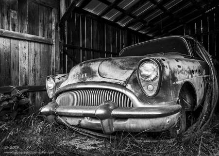 """""""Out in the Barn"""", Canon 5D Mk3, 24-70mm f/2.8L Mk2, Singh-Ray Color Combo Polarizer, Converted to B&W in Lightroom"""