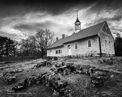 """""""Ruins and Worship"""", Canon 5D Mk3, 16-35mm f/2.8L Mk2, Singh-Ray Galen Rowell, 3-stop soft ND Grad, Converted to B&W in Lightroom"""