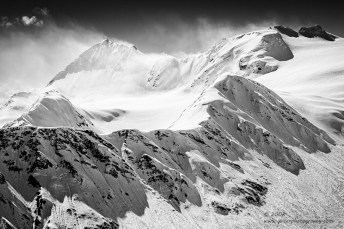 """""""Low Sun, High Winds"""", Canon 40D, 70-200mm f/4L, Converted to B&W in Lightroom"""