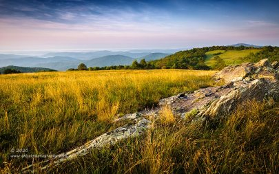 """""""Doughton's Expanse"""", Canon 5D Mk3, 24-70mm f/2.8L Mk2, Singh-Ray Galen Rowell 3-Stop Soft ND Grad"""