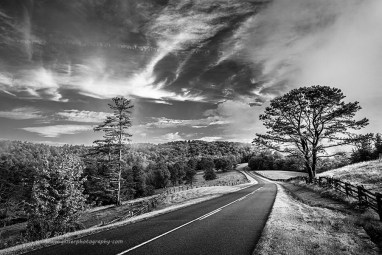 """""""Paving Paradise"""", Canon 5D Mk3, 16-35mm f/2.8L Mk2, Singh-Ray Color Combo Polarizer, Converted to B&W in Lightroom"""