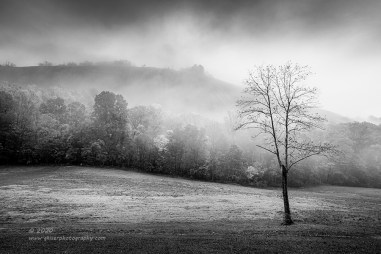 """""""Misty Layers"""", Canon 5D Mk3, 16-35mm f/2.8L Mk2, Singh-Ray Galen Rowell 3-stop soft ND grad, Converted to B&W in Lightroom"""