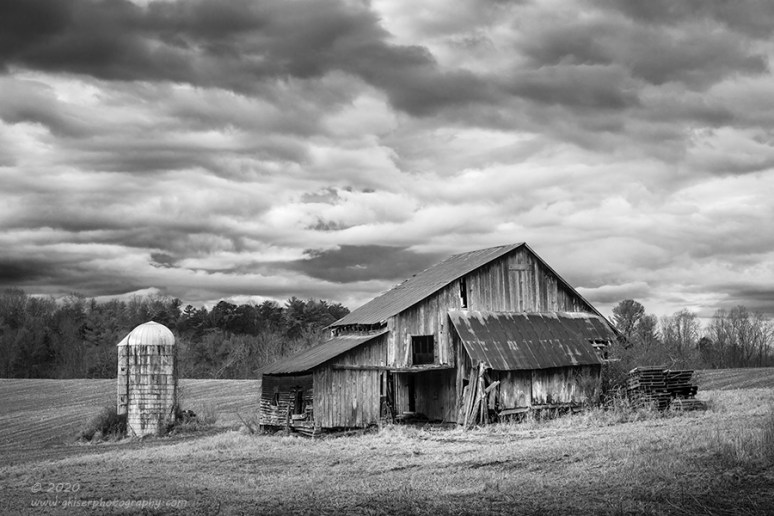 """""""Silent Testimony"""", Canon 5DS R, 70-200mm f/2.8L Mk2, Singh-Ray Color Combo Polarizer, Converted to B&W in Lightroom"""