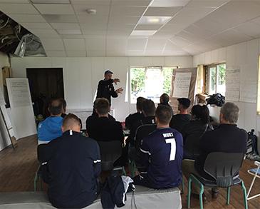 Goalkeeper education events