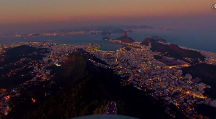 Vista do Cristo Redentor para o Rio de Janeiro