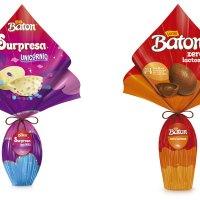 Baton Surpresa Unicórnio e Zero Lactose, ovos de Páscoa da Baton.