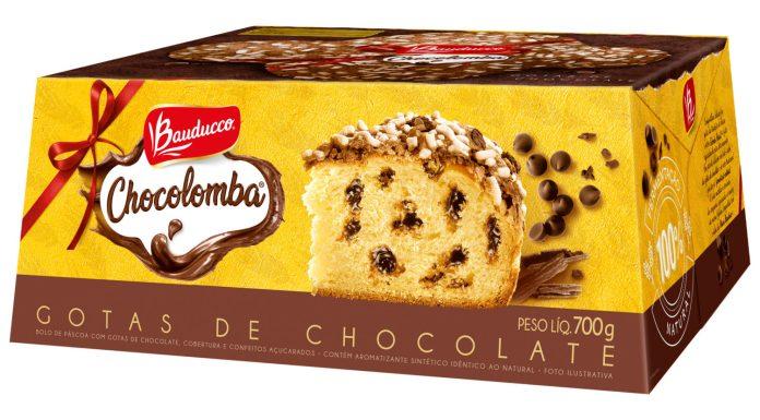 Chocolomba, produto da Páscoa Bauducco.