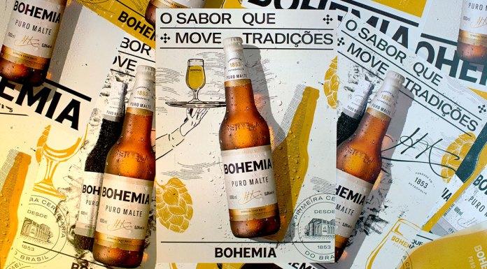Banner da nova companha da Bohemia com seu novo conceito.
