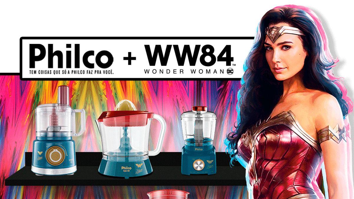 machismo/feminismo: Philco lança linha de produtos de cozinha da Mulher Maravilha (Gal Gadot) Philco-mulher-maravilha
