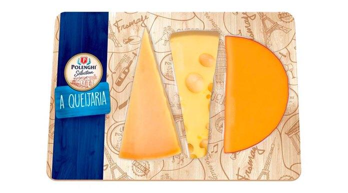 Tábua de queijos da Polenghi.