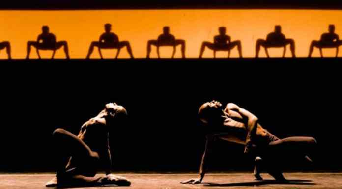 Apresentação do Grupo Corpo, que estará em parceria com a Localiza para promover aulas de dança