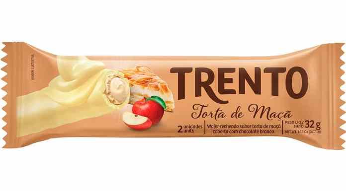 Trento Torta de Maçã.