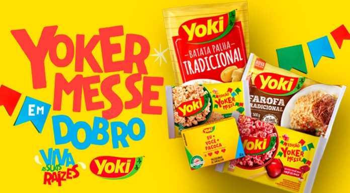 Foto de divulgação da festa junina virtual da Yoki.