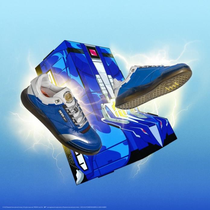 Coleção Reebok Power Rangers Tênis Azul
