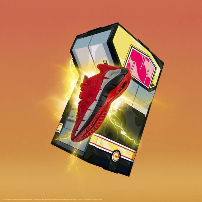 Coleção Reebok Power Rangers Tênis Vermelho