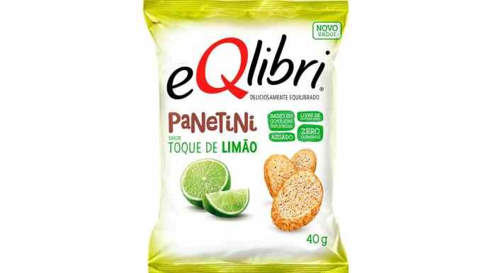 eQlibri Panetini sabor Toque de Limão.
