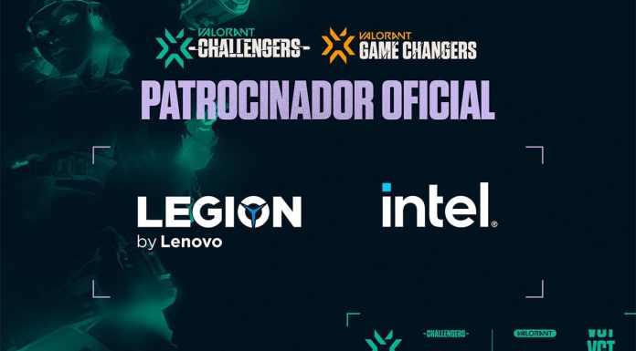 Anúncio do patrocínio da Lenovo para Valorant no Brasil