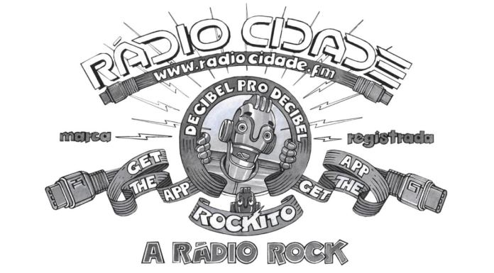 Rockito, novo mascote da Rádio Cidade